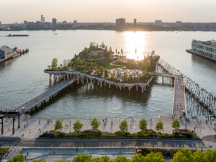 Ilha artificial é inaugurada em Nova Iorque
