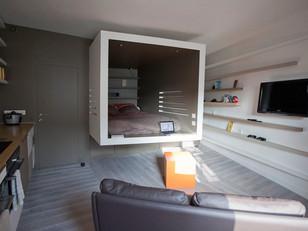 Um nicho para o dormitório