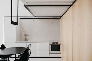 Um compacto minimalista para uma família