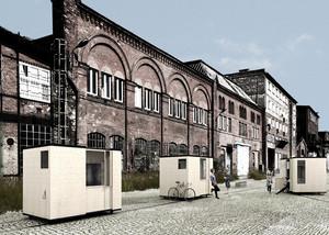 Casas expansíveis e móveis