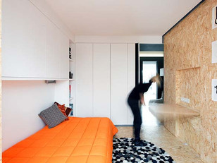Apartamento reformado para moradia estudantil