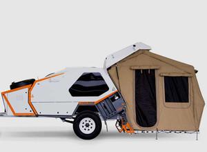 Trailer ou barraca de camping? O melhor dos dois.