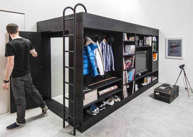living cube: uma proposta para pequenos espaços