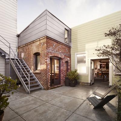 Casa compacta de tijolinhos