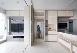 Projeto transforma 45 m² em 4 dormitórios