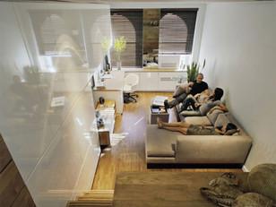 Moradia e trabalho em 46 m²