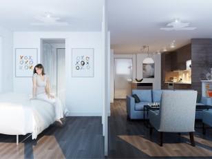 Ambientes flexíveis transformam apartamento (parte 2)