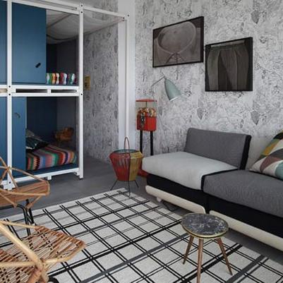 Pequeno apartamento para férias em família
