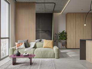Estilo contemporâneo e minimalista renova apartamento