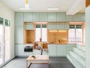 Soluções inteligentes para otimizar o pequeno apartamento