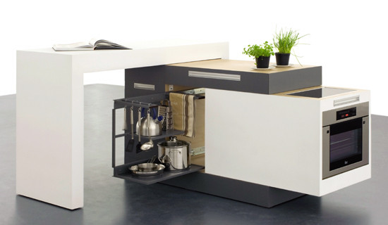 MINIMUM DESIGN MINI COZINHA MICRO KITCHEN
