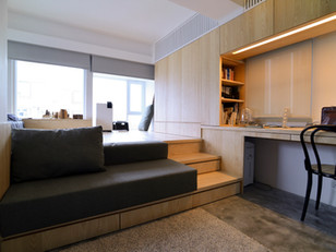 Pequeno apartamento cheio de truques