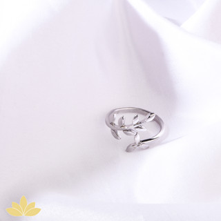R002 - Two Leaf Ring