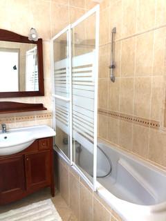 Salle de bain Chambre double vue jardin