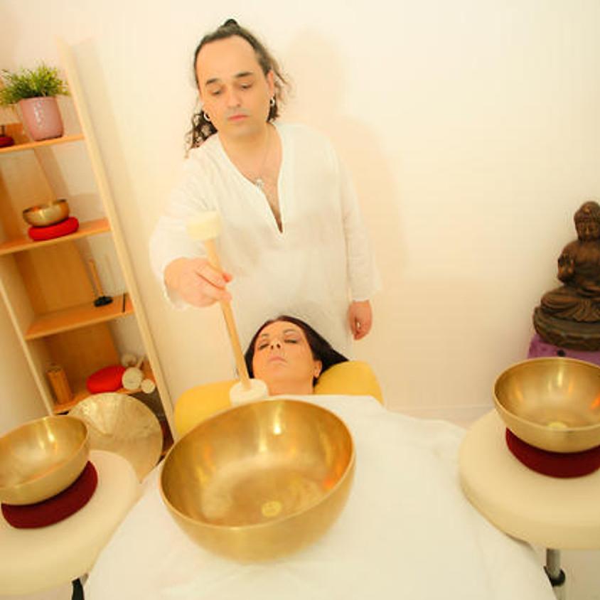 Massage Sonore Individuel avec Swann