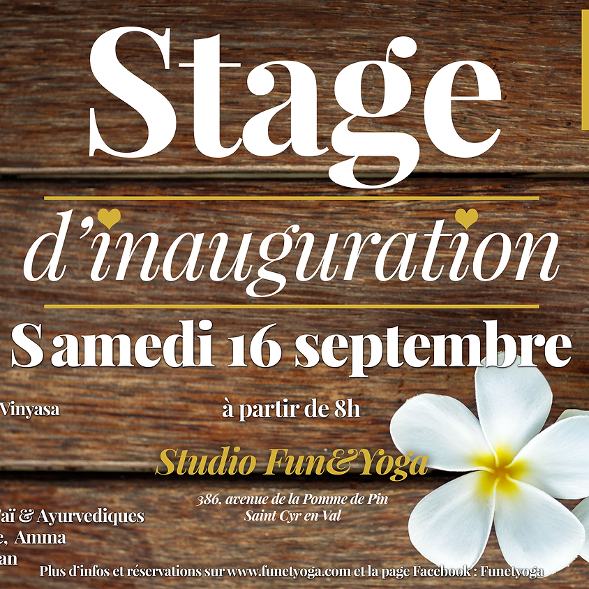Stage d'Inauguration