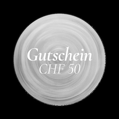 Gutschein der Tonerie im Wert von CHF 50