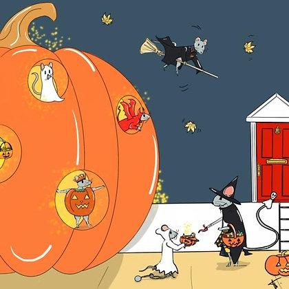 Halloween a tous les etages (papier)