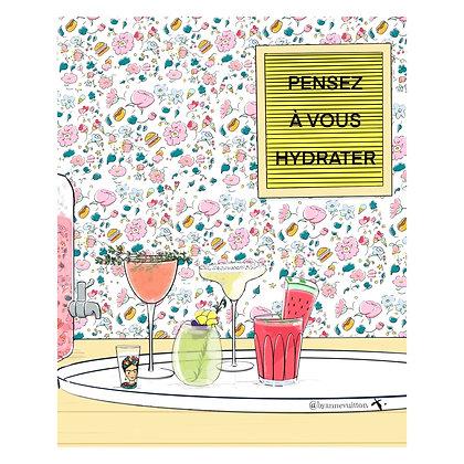 Summer Hydratation! (papier)