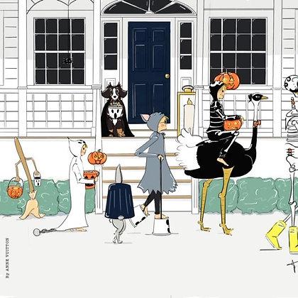 Halloween night (papier)