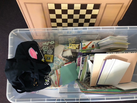 A HUGE donation of craft items