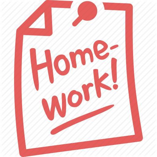 Homework Help wording on pin board