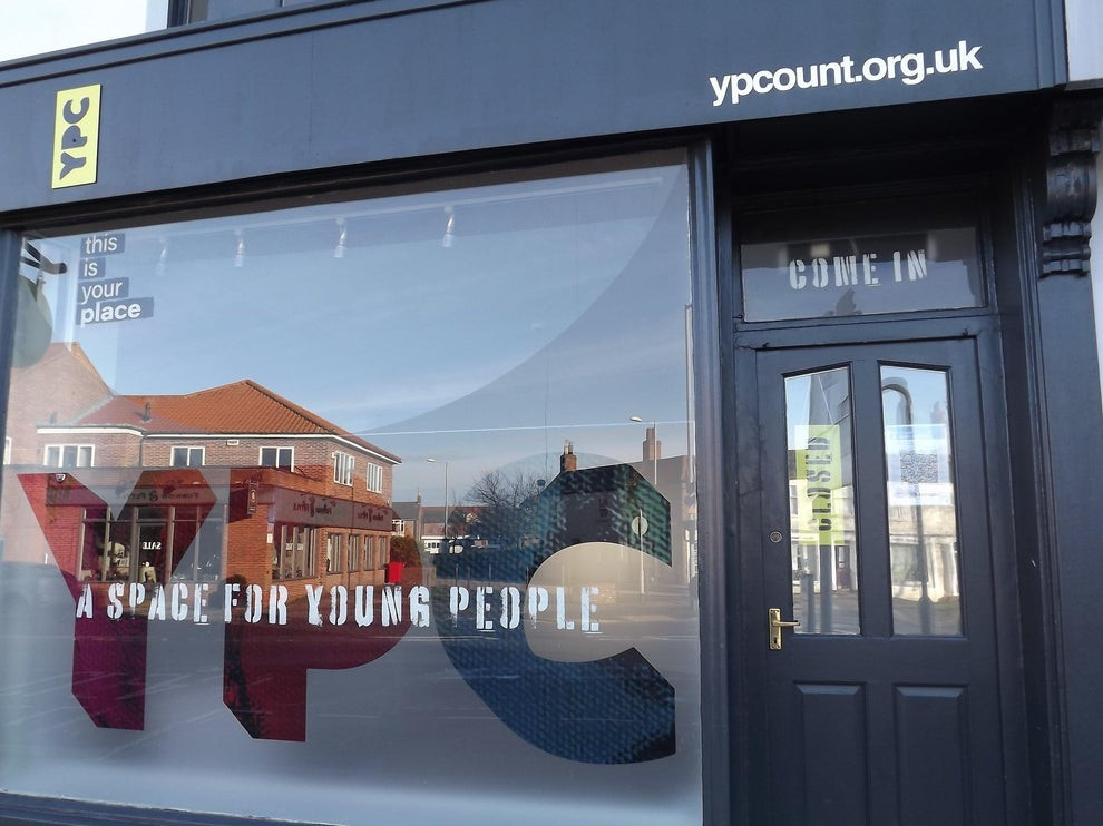 Young People Count premises entrance