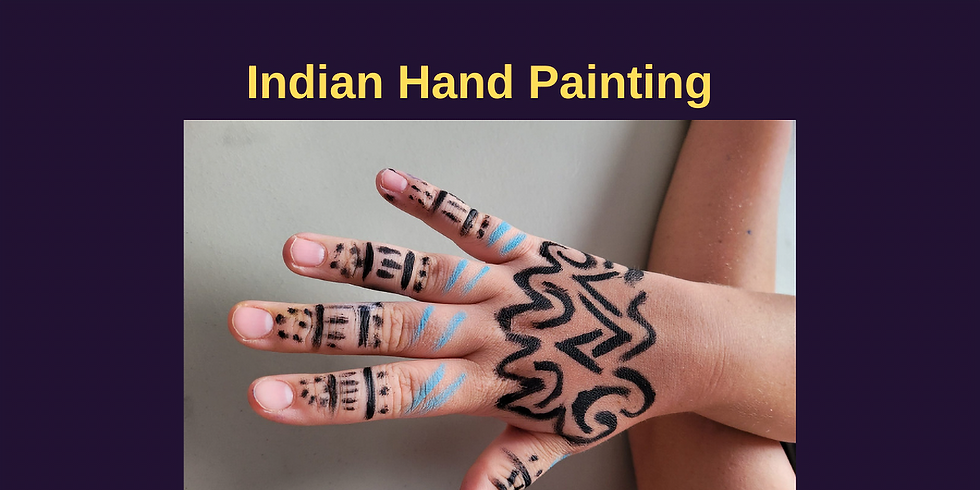 Indian Hand Painting