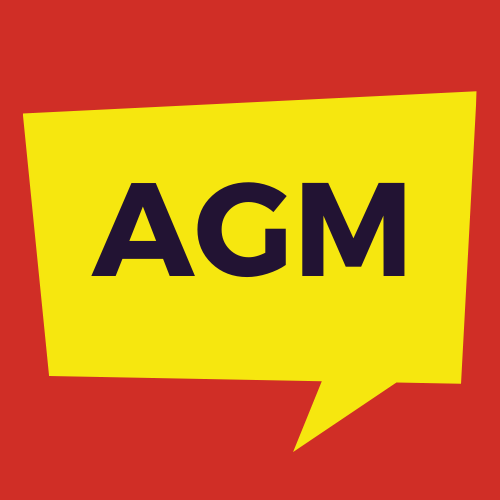 A notice to advise the date and time of the Annual General Meeting for Young People Count as 6pm on Thursday 29th April 2021