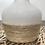 Thumbnail: Vase en céramique 19 - Corde en jute