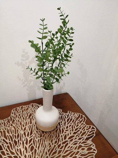Vase en céramique 19 - Corde en jute