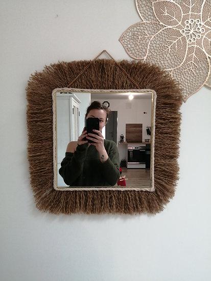 Miroir carré - Sauvage