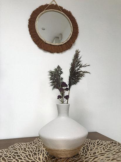 Vase en terre cuite 16 - Corde en jute