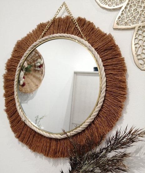 Précommande : Miroir rond coton - Chloé