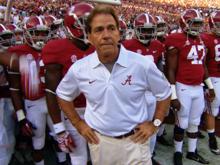 THE NICK SABAN INTERVIEW TACTIC WE SHOULD ALL USE