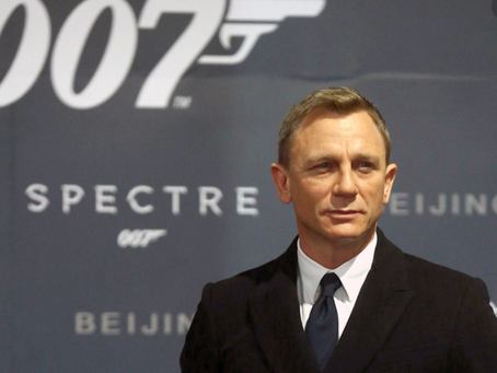 JAMES BOND WAS A STORMTROOPER?