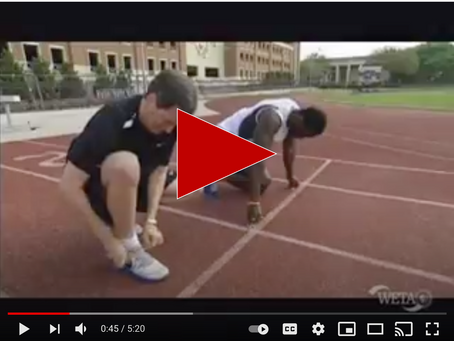 THE VIDEO THAT PROVES MY FEET ARE AS FAST AS USAIN BOLTS' FEET