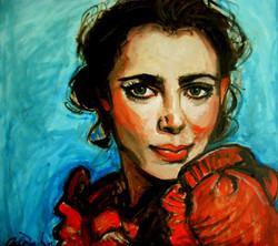 Lady in Scarlet