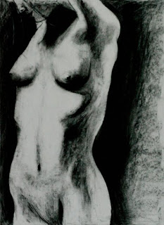 Female in Charcoal