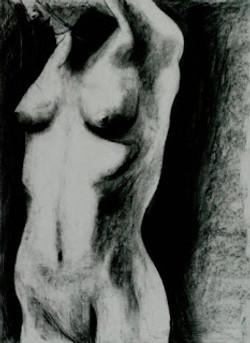 Female in Charcoal