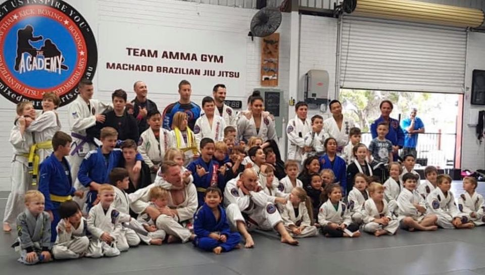 BRAZILIAN JIU JITSU TEAM AND FAMILY
