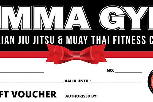 $25.00 AMMA GYM Gift Voucher