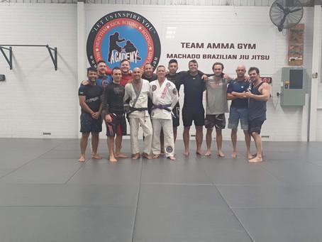 New Brazilian Jiu Jitsu Purple Belt - Kevin Sadler