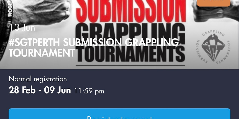 #SGTPERTH June Round Robin Submission Only Tournament