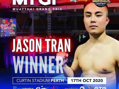 Congratulations to Jason Tran