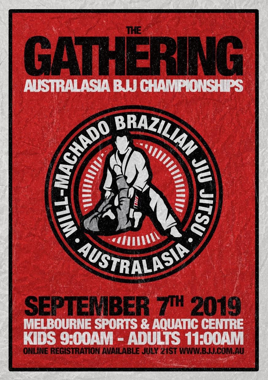 Machado Australasian Brazilian Jiu Jitsu Tournament