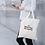 Thumbnail: Personalised Organic Cotton Tote Bag - Smile