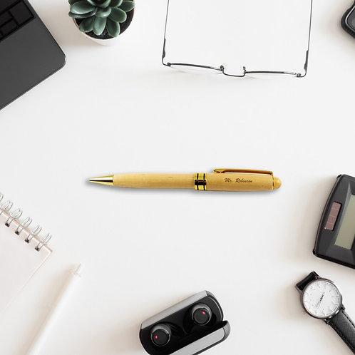 Personalised Wooden Pen - Top Teacher