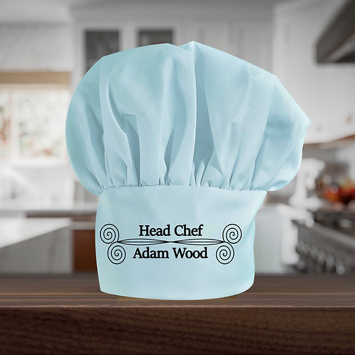 Personalised Chef's Hat  - Head Chef