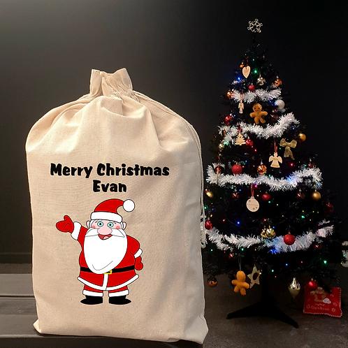 Personalised  Christmas Sack - Santa